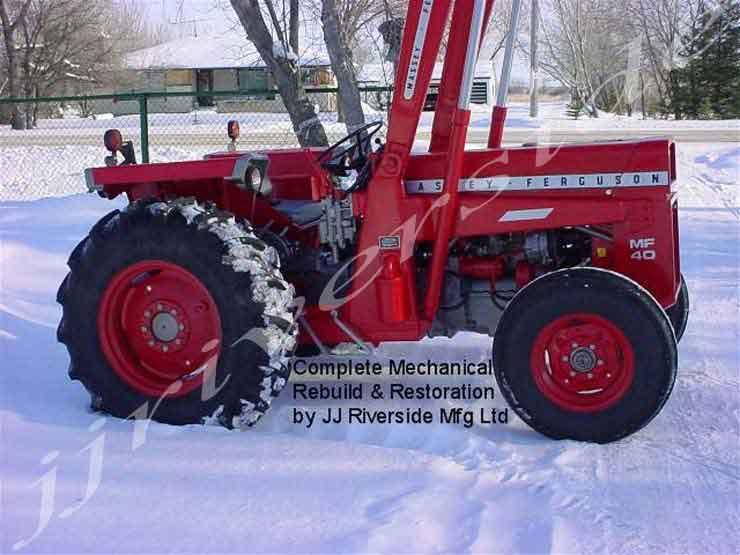Ferguson 40 Tractor : Massey ferguson tractor iron search