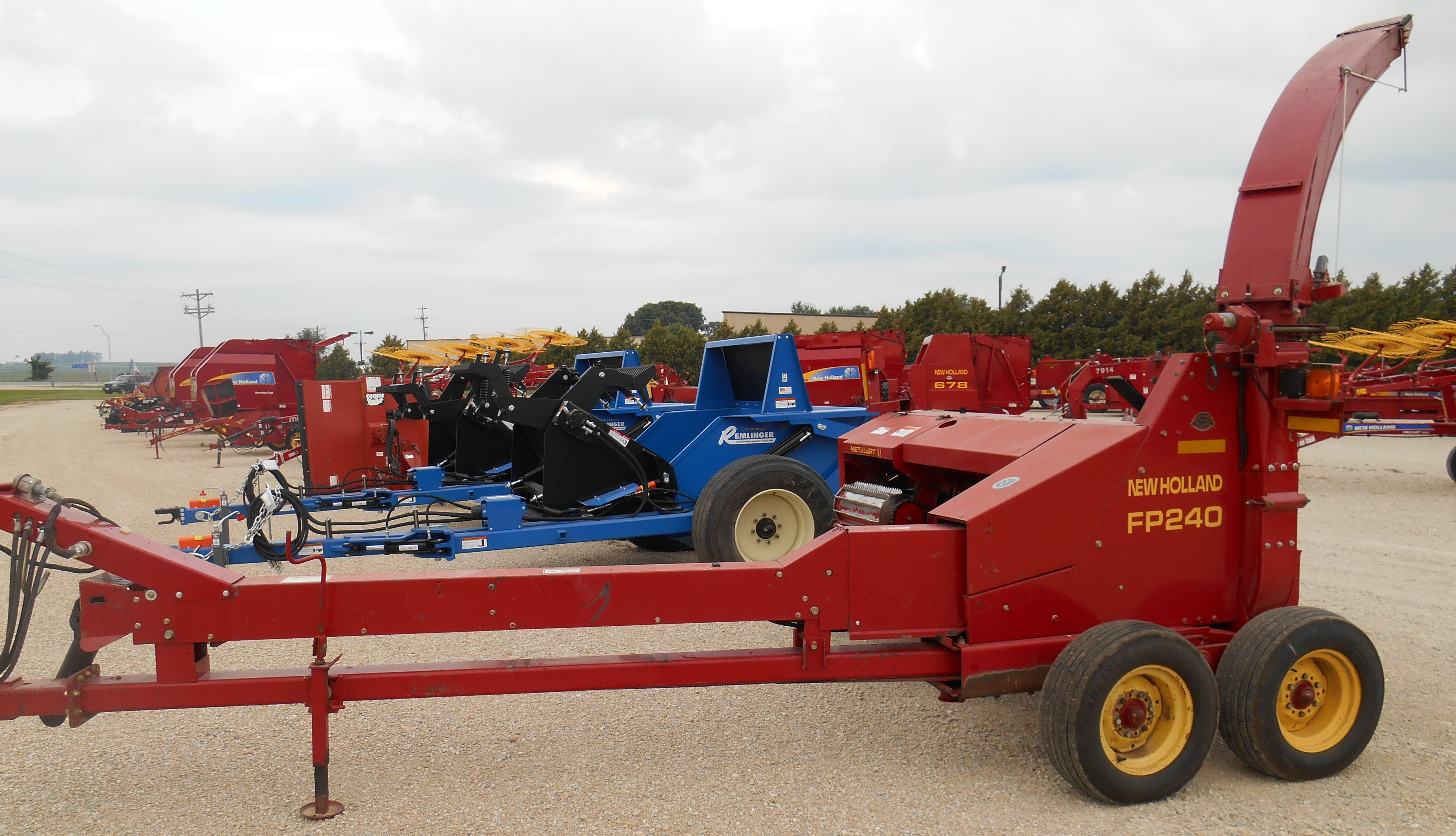 2001 New Holland FP240 Forage Harvester