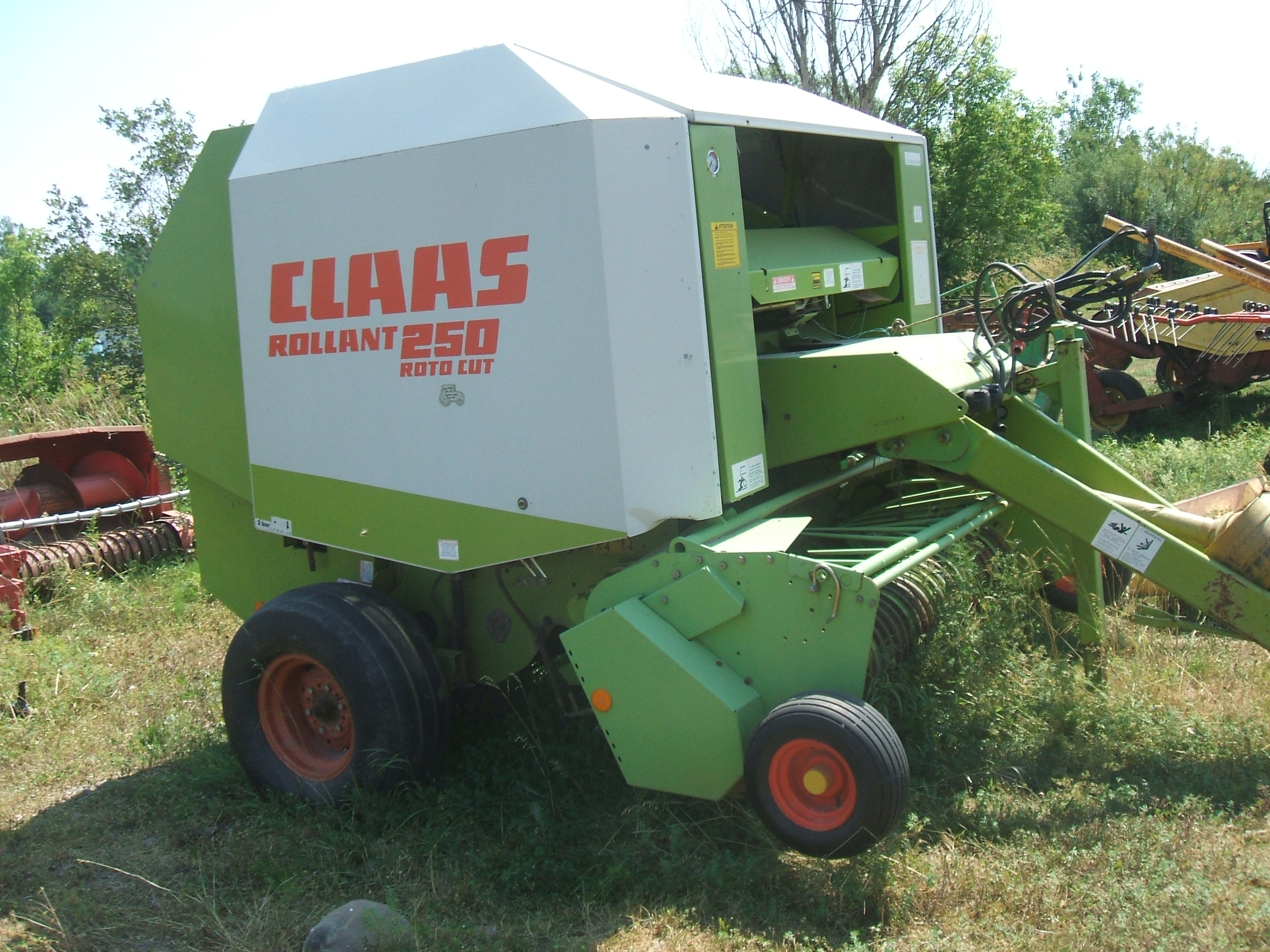 Claas roolant 250rc Baler/Round | IRON Search