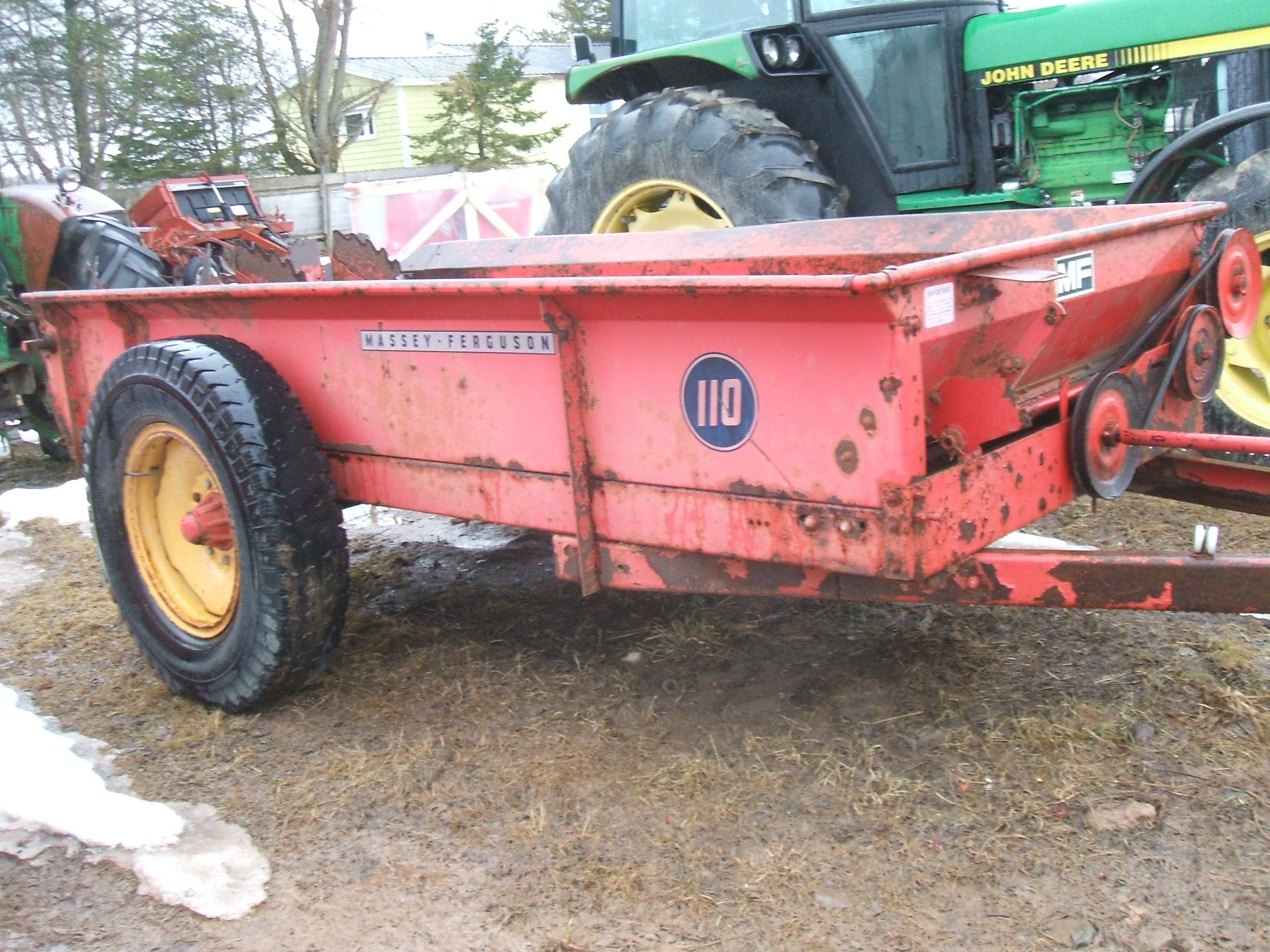IRON Search - Dozens of Used Farmstead Manure Spreaders For