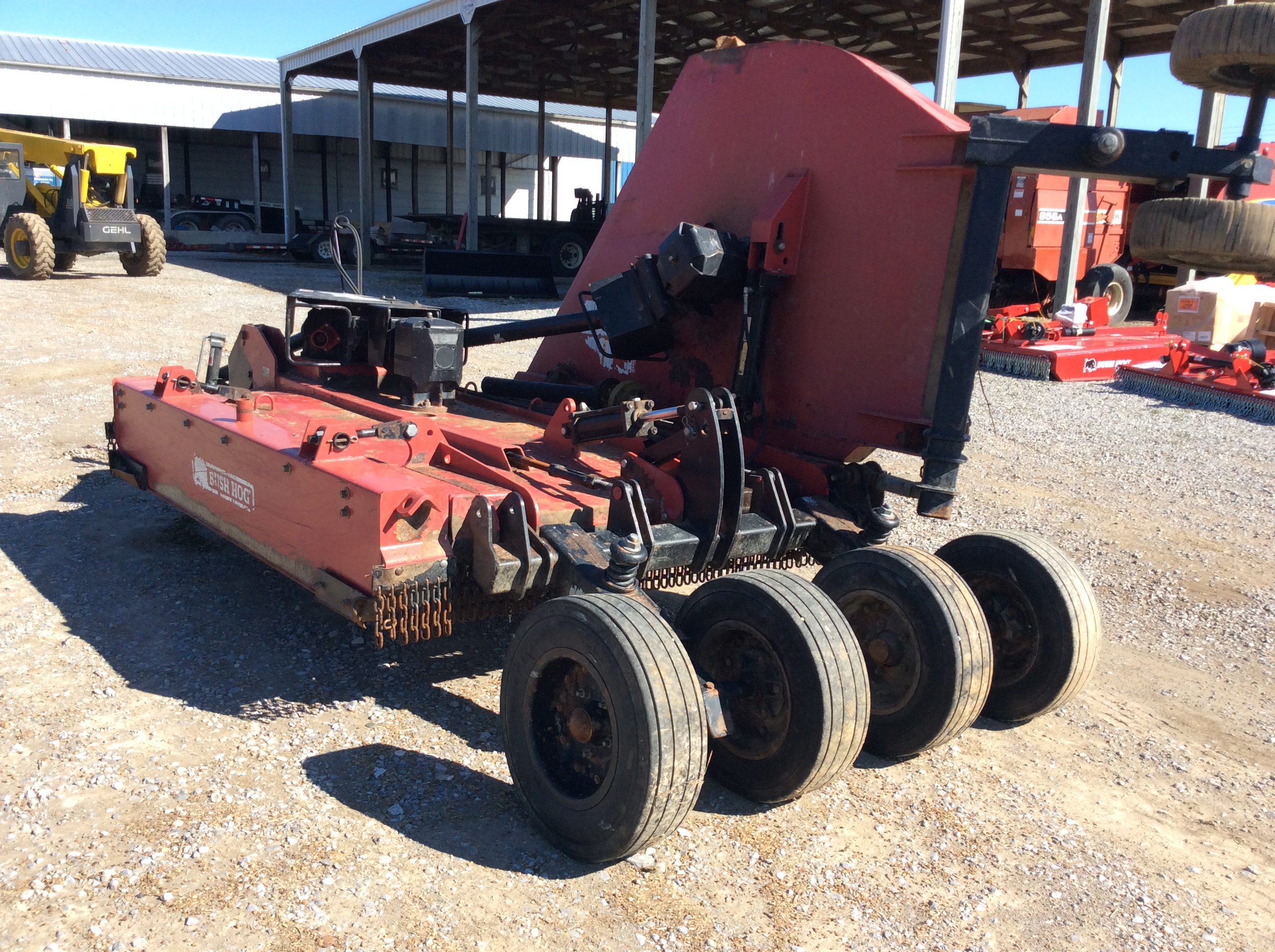 Bush Hog 12710 Mower/Batwing Pictures From Our Online ...