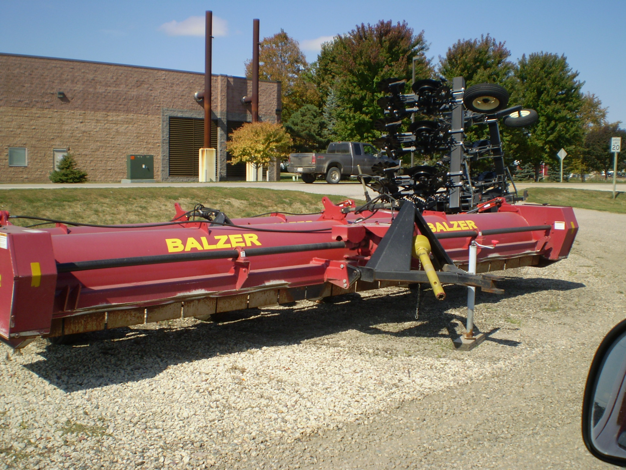 2010 Balzer 2000 Stalk Chopper