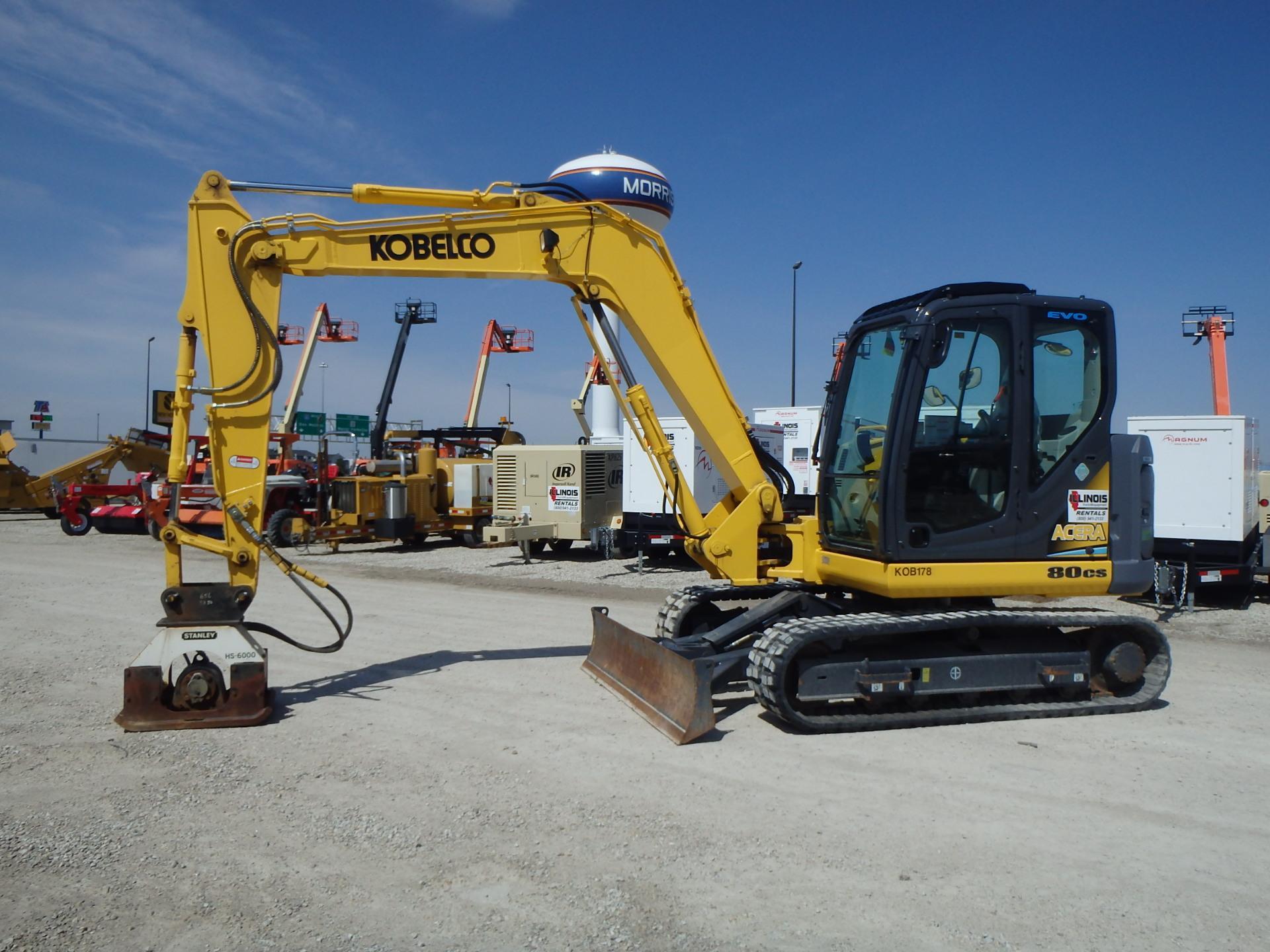 2012 Kobelco 80CS Excavator