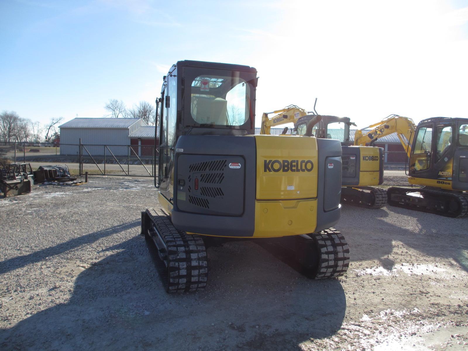 2013 Kobelco 80CS Excavator