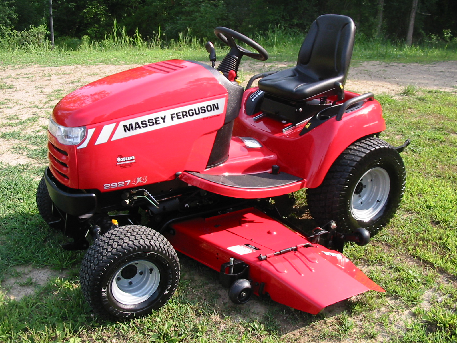 2011 massey ferguson 2927h garden tractor iron search