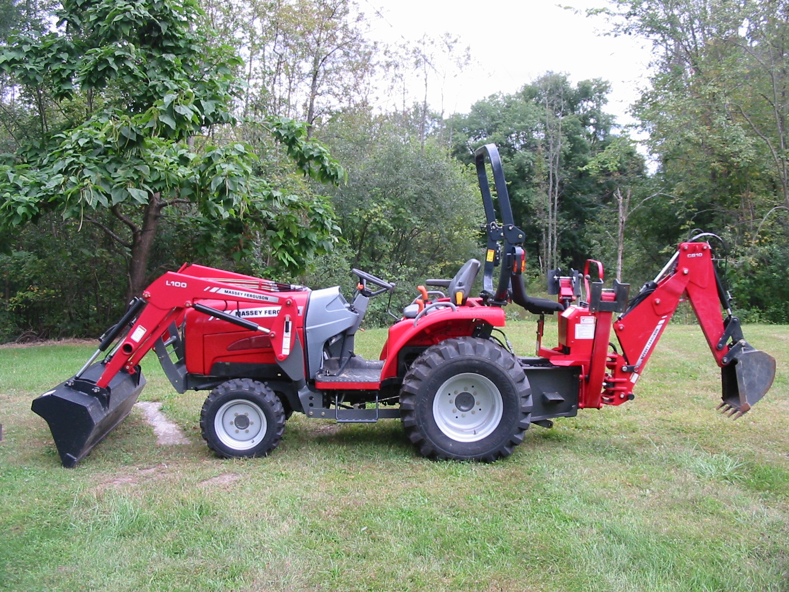 Massey Ferguson Tractor Loader Backhoe : Massey ferguson tractor loader backhoe iron search