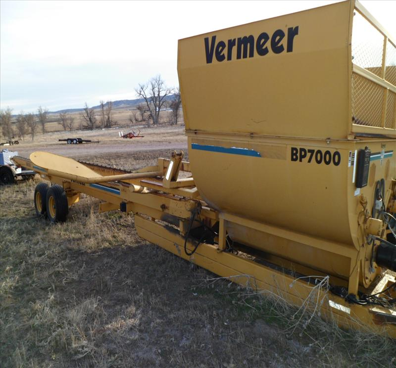 2002 Vermeer BP7000 Bale Processor