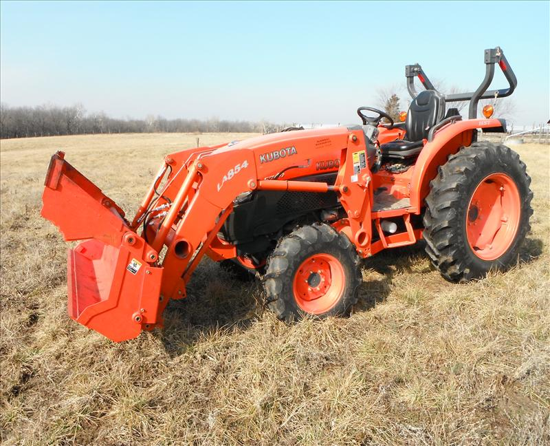 2010 Kubota L5740 HST-3 Tractor 4WD