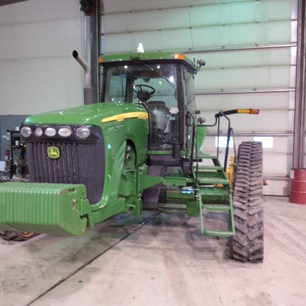 2003 John Deere 8320T Tractor Rubber Track