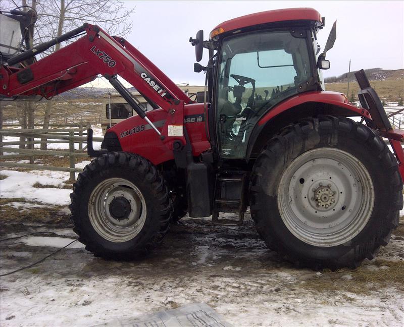 2006 Case IH MXU135 Tractor