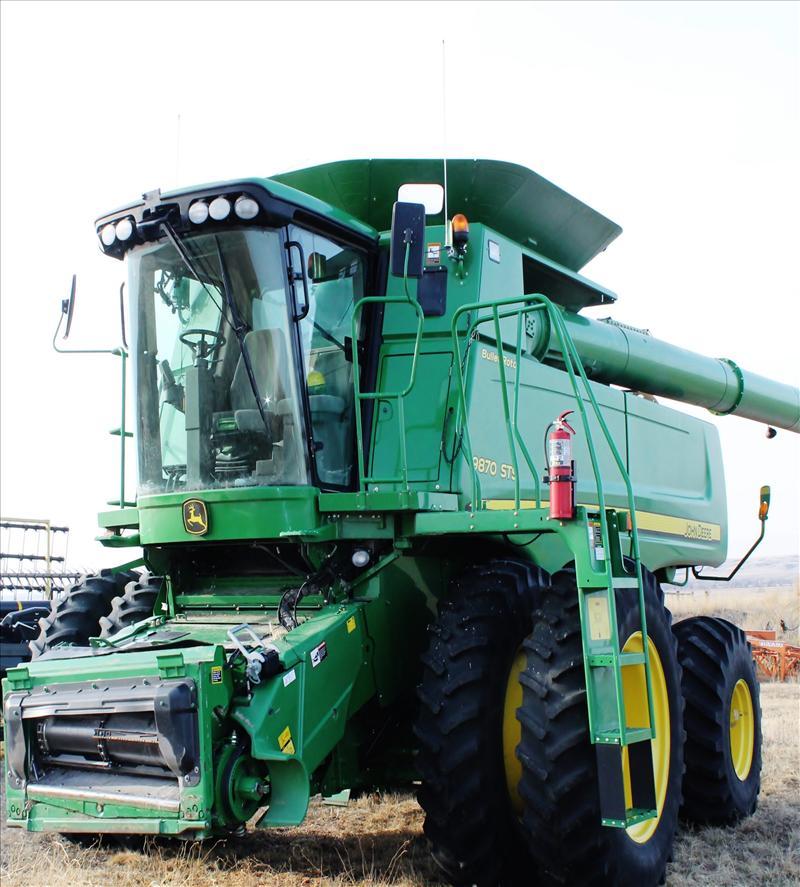 John Deere 9870 STS Combine