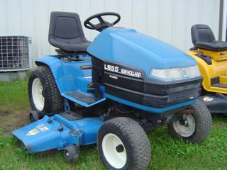 1997 New Holland LS55H Lawn Tractor