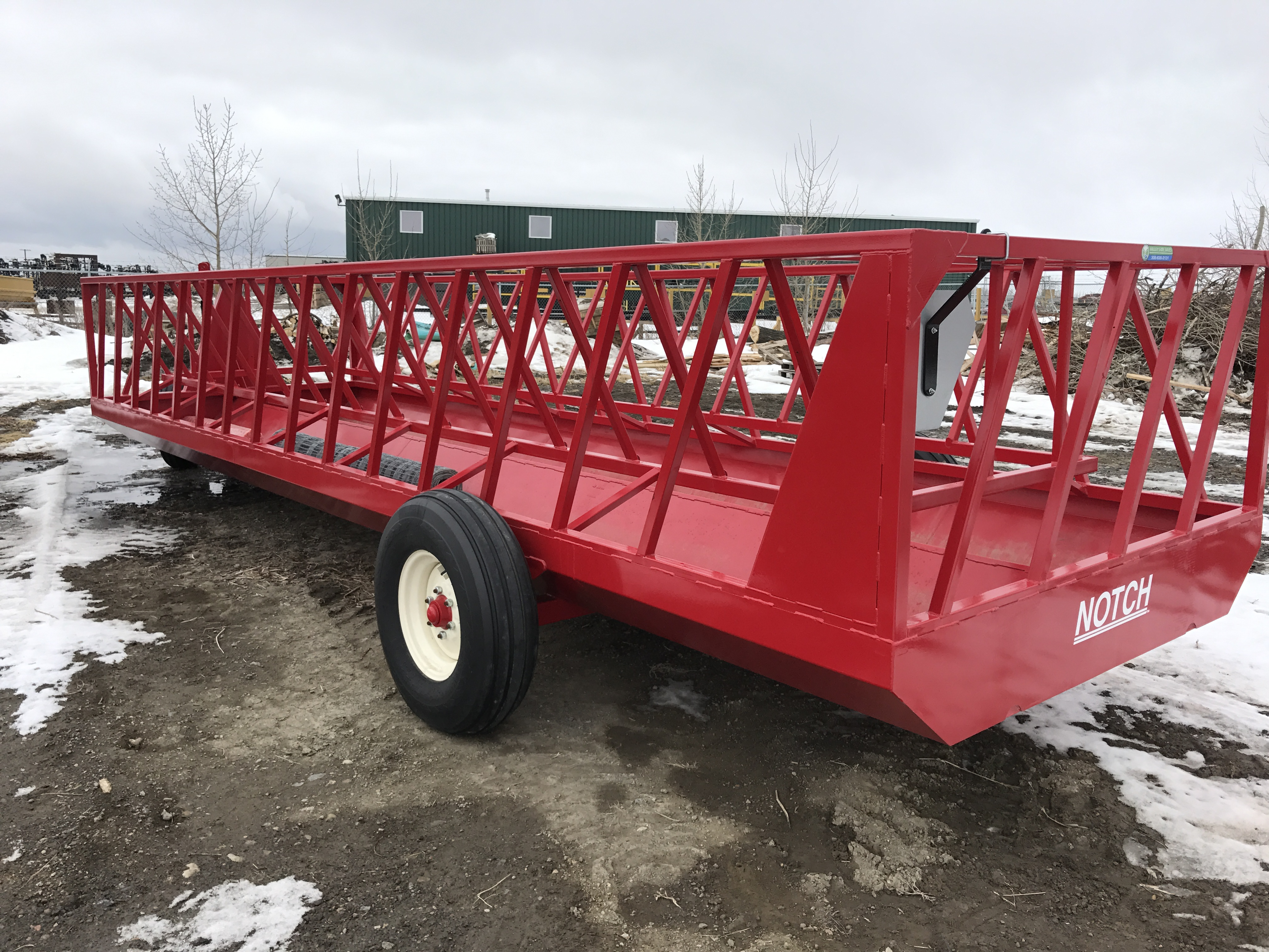 2016 Notch Feed Wagon FW84-24 Feed Wagon for sale in