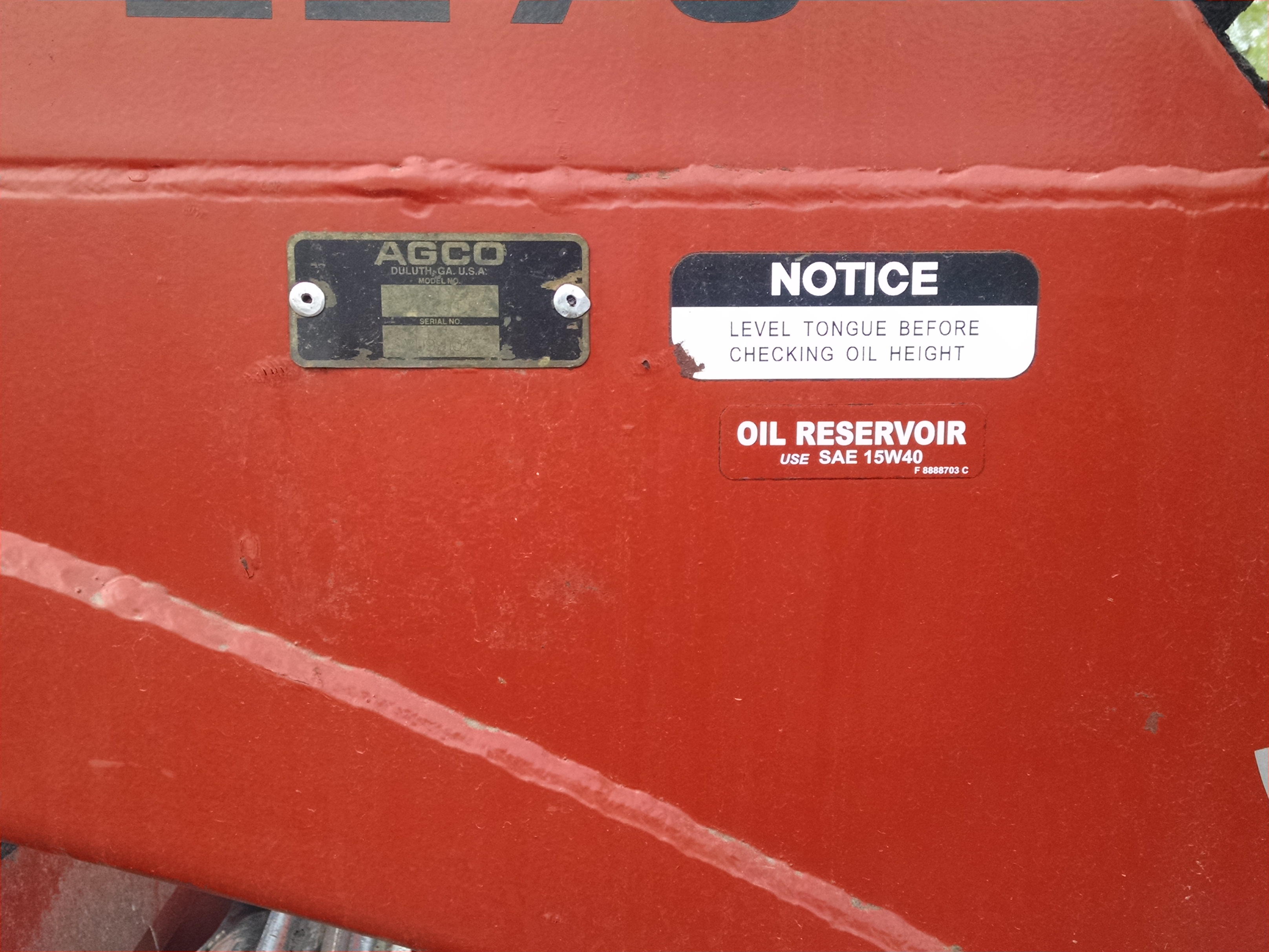 2009 AGCO Hesston 2275 Mower Conditioner for sale in