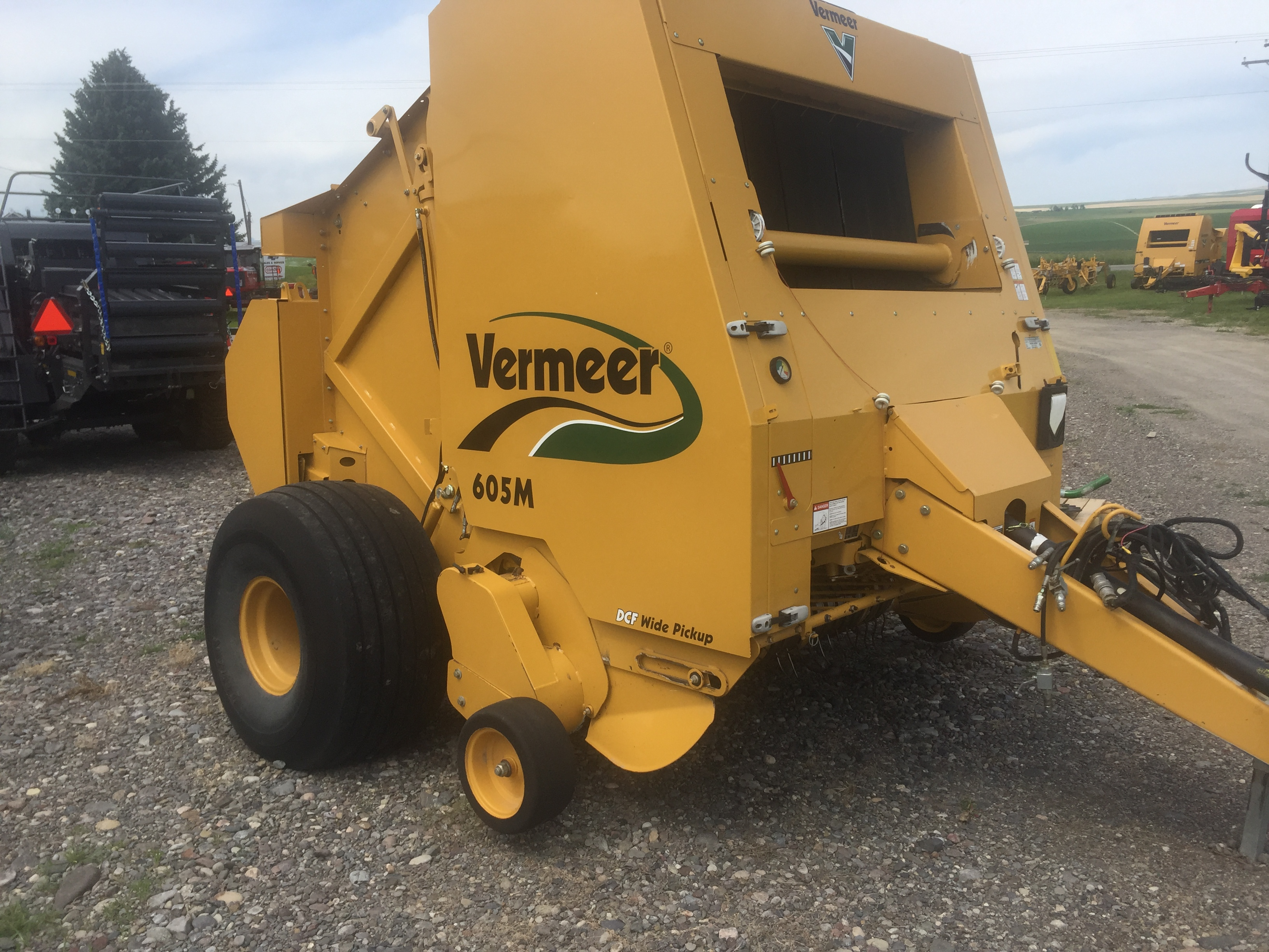 2008 Vermeer 605M Baler/Round for sale in Manhattan, MT | IronSearch