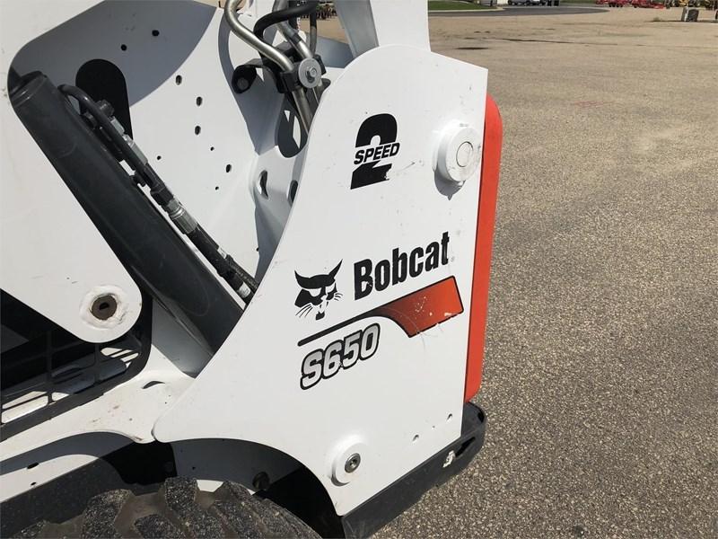 2017 Bobcat S650 Skid Steer Loader for sale in Faribault, MN