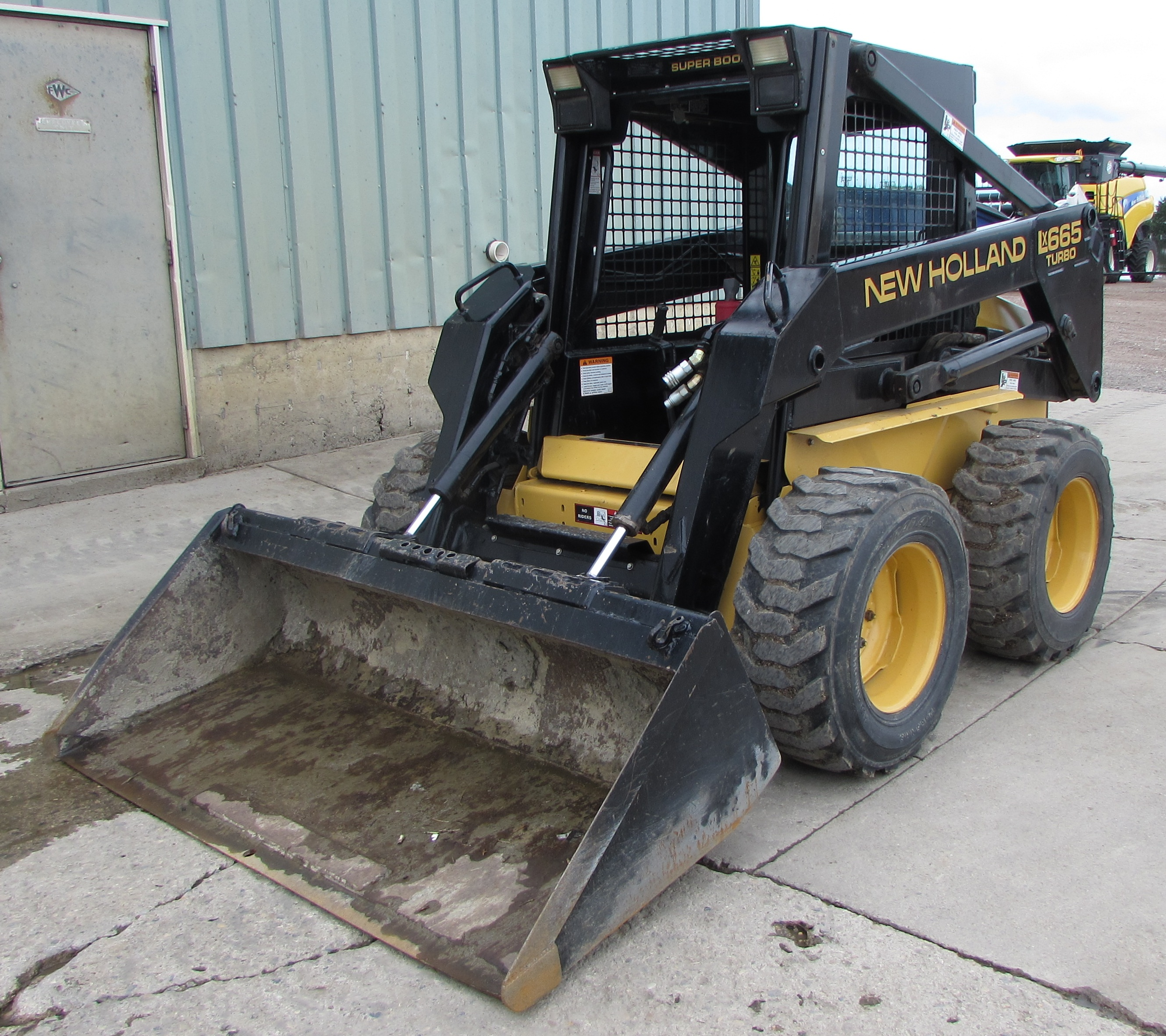 1996 New Holland LX665 Skid Steer Loader for sale in Redwood