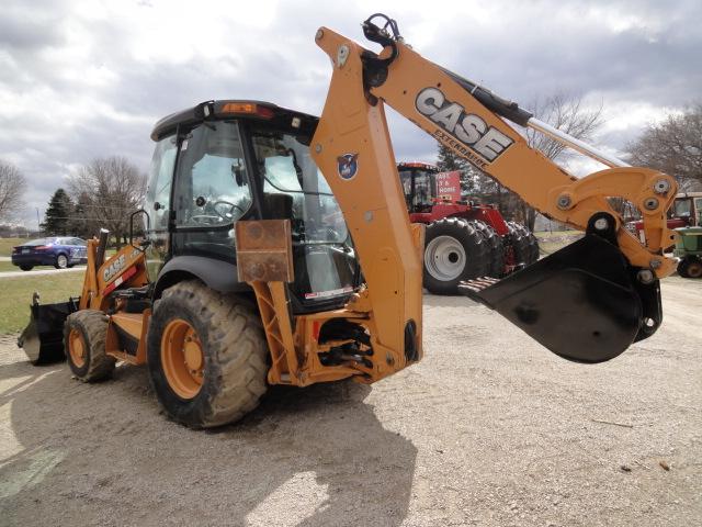 2012 Case 580 Tractor Loader Backhoe for sale in Chatfield