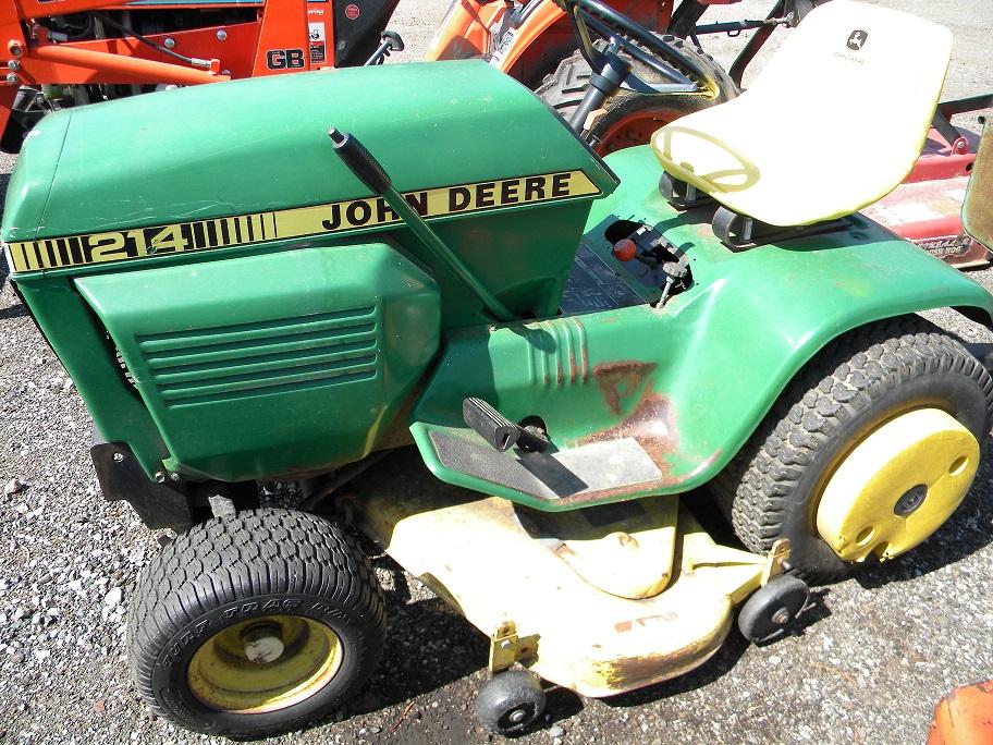 John Deere 214 >> 1985 John Deere 214 Garden Tractor For Sale In Charlotte Mi