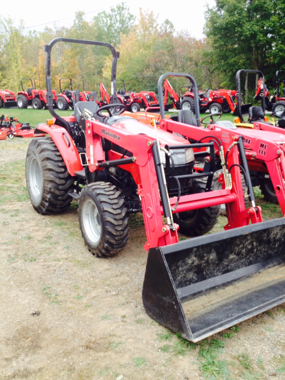 2012 Mahindra 4010 Tractor Loader for sale in Sharon Springs