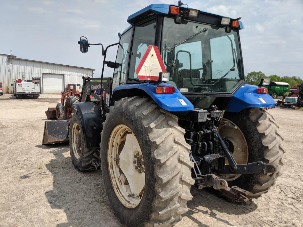 1998 New Holland TS110 Tractor Loader for sale in Mildmay, ON