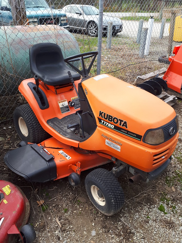 1997 Kubota T1760 Lawn Tractor For Sale In Meaford On Ironsearch