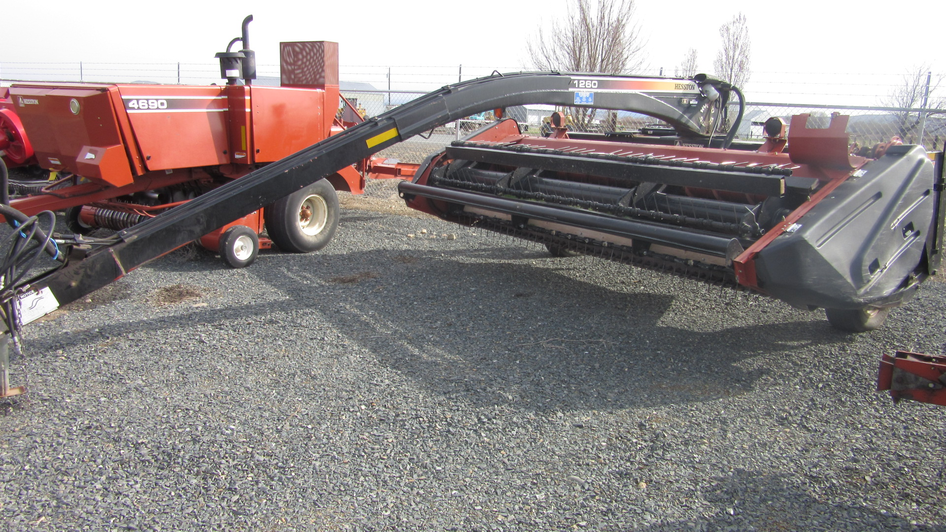 2006 AGCO Hesston 1260 Mower Conditioner for sale in Baker City, OR