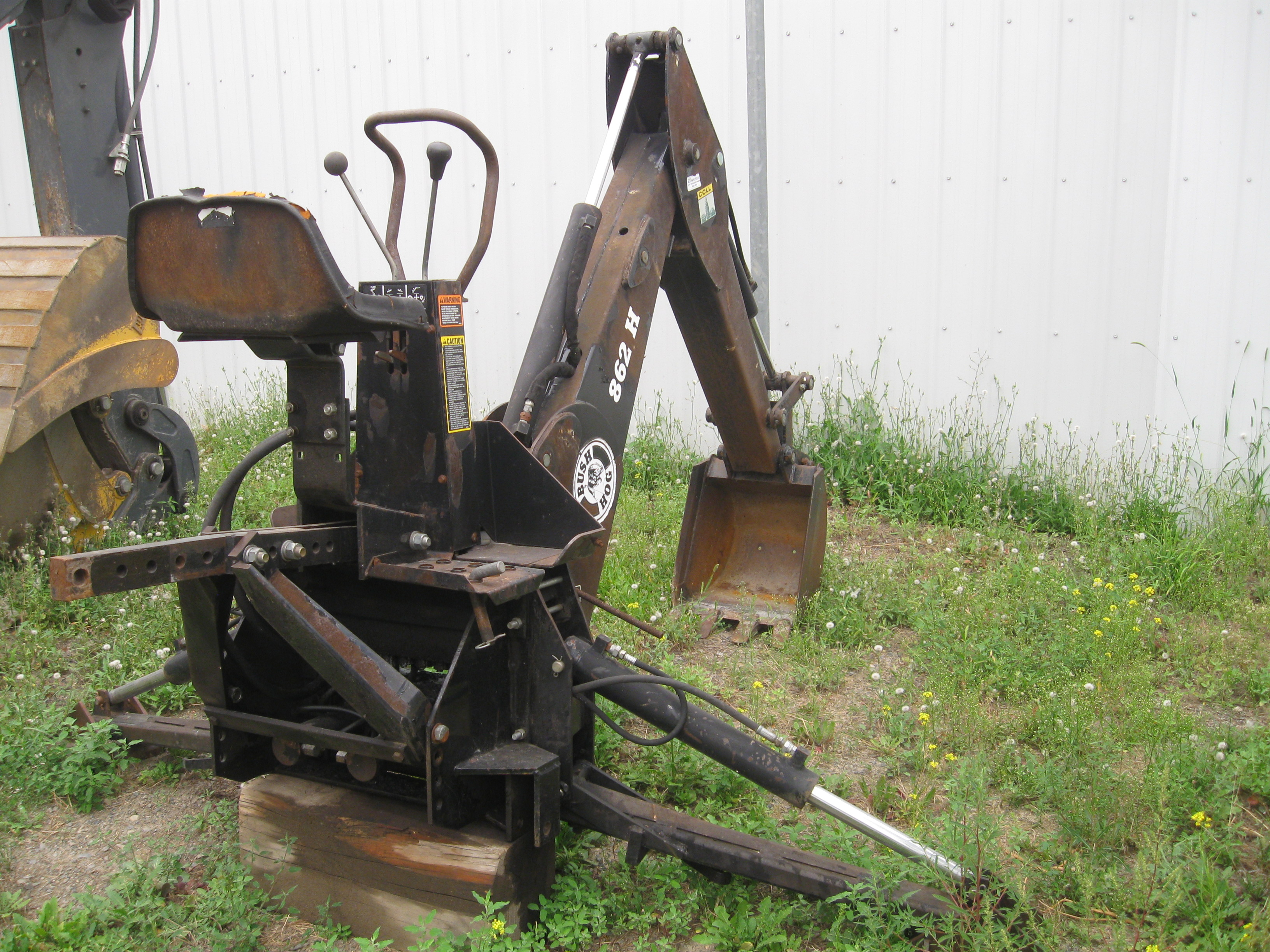 2008 Bush Hog 862h Backhoe Attachment For Sale In Kamloops