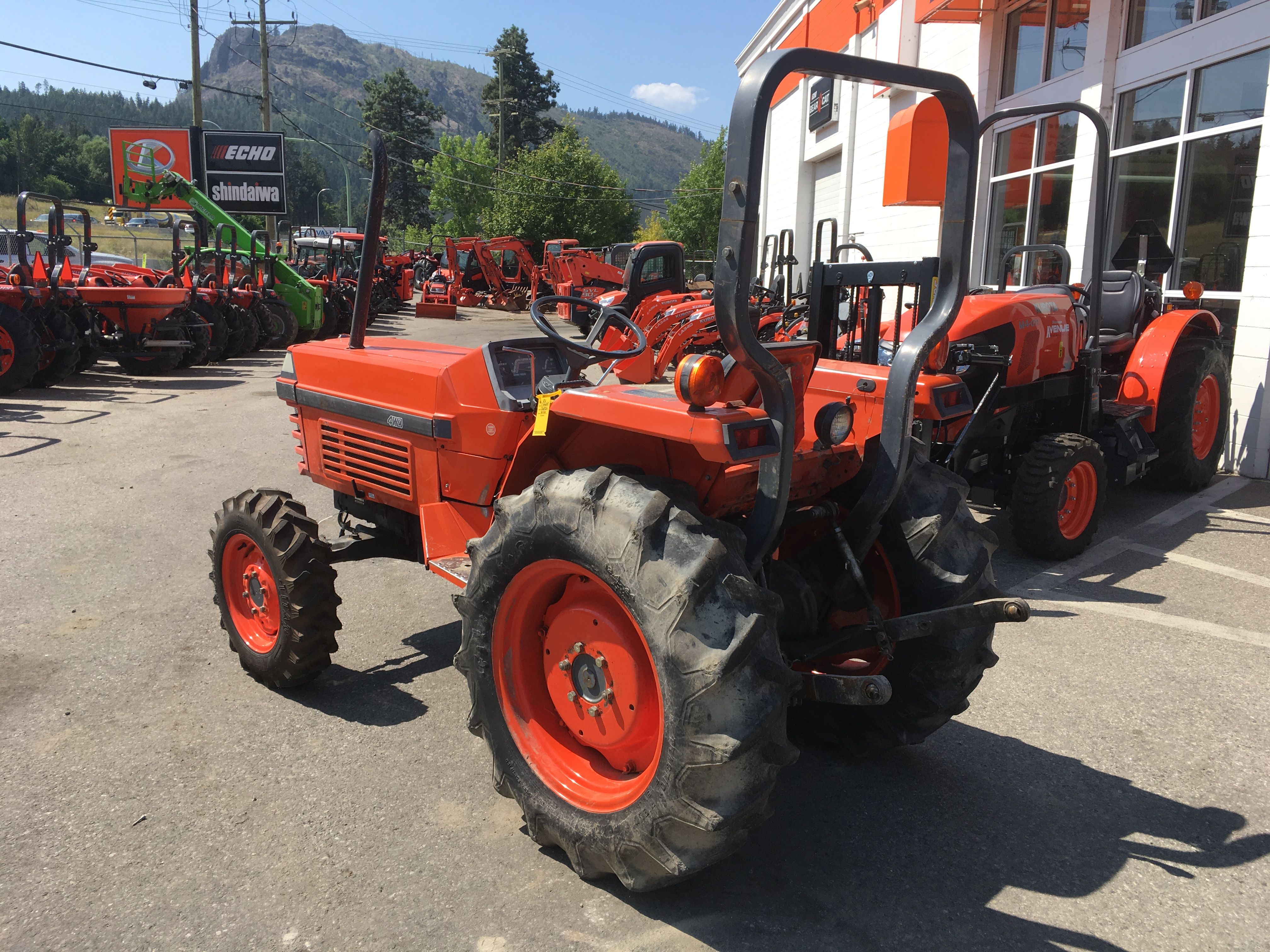 1992 Kubota L3450 Tractor for sale in Abbotsford, BC | IronSearch