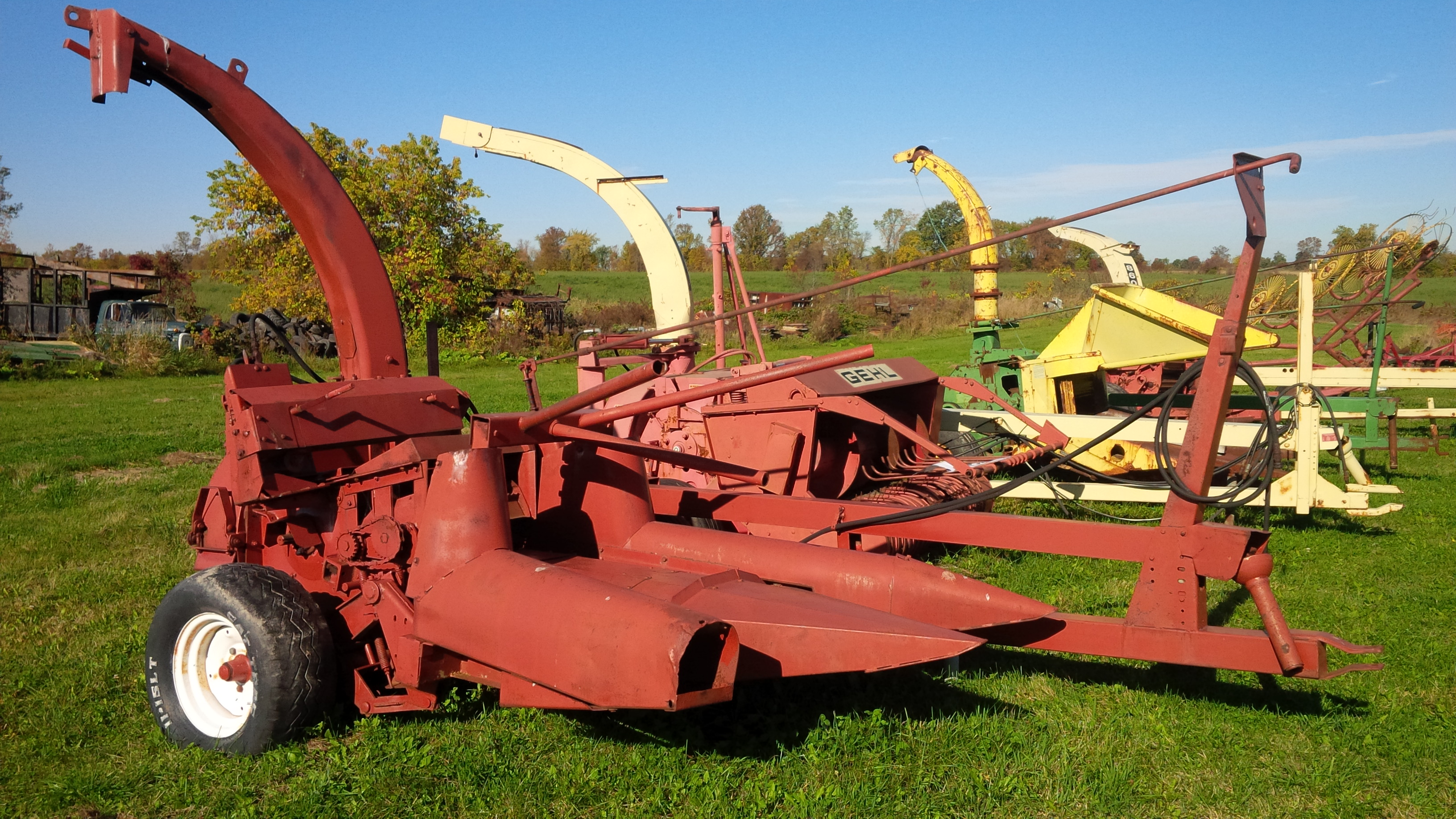 Hesston 7020 Forage Harvester for sale in Pembroke, ON