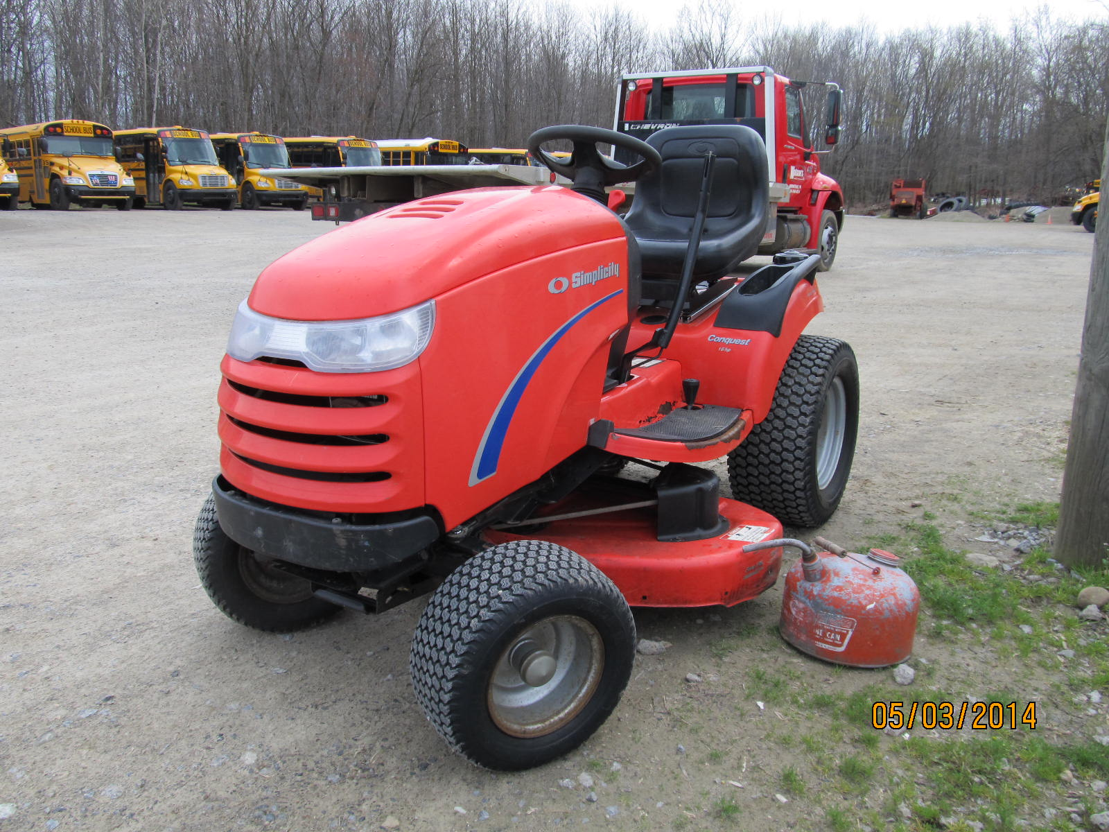 Simplicity Conquest 16h Garden Tractor For Sale In