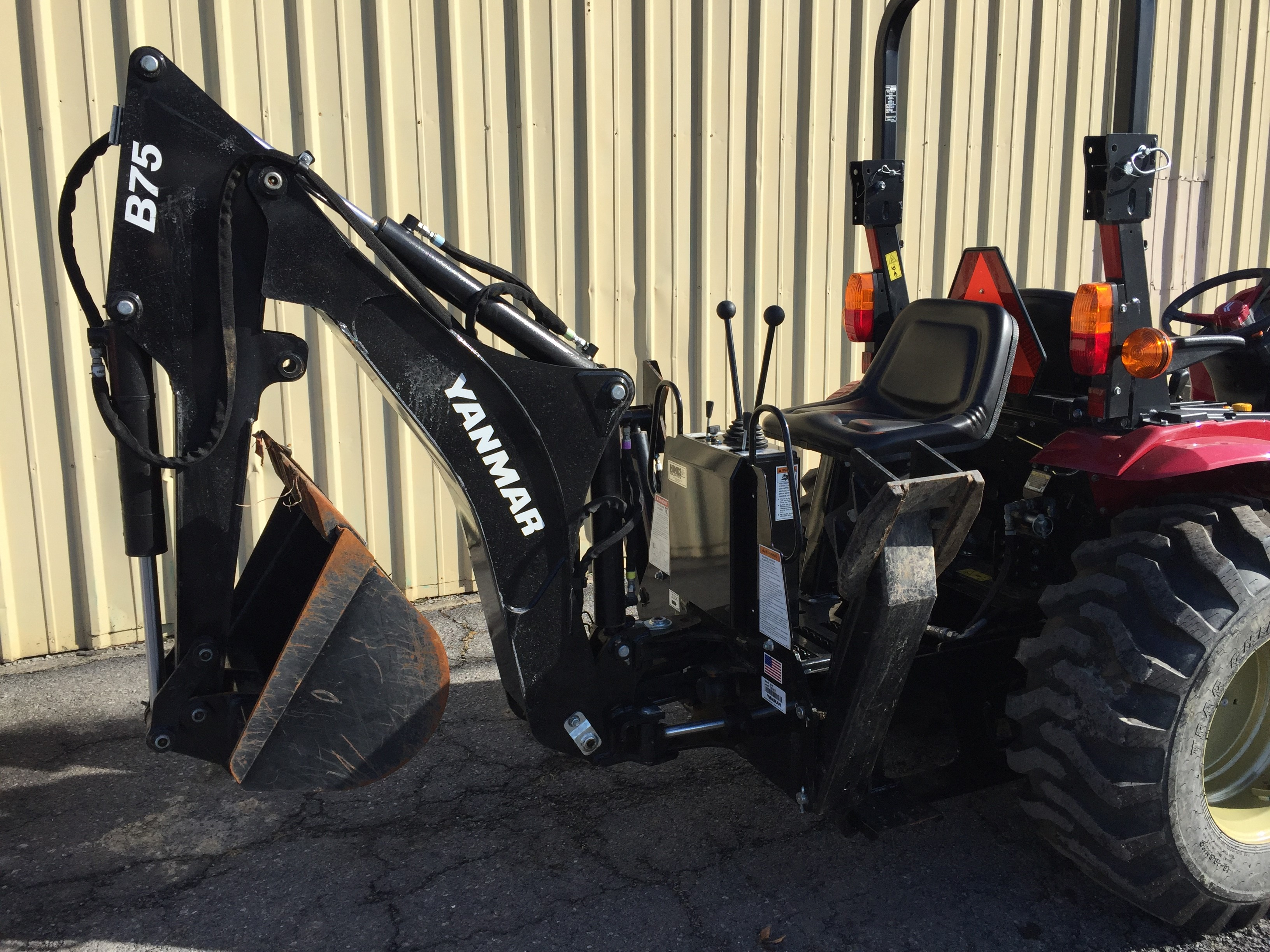 2017 Yanmar YT235 Tractor Compact for sale in Cresson, PA