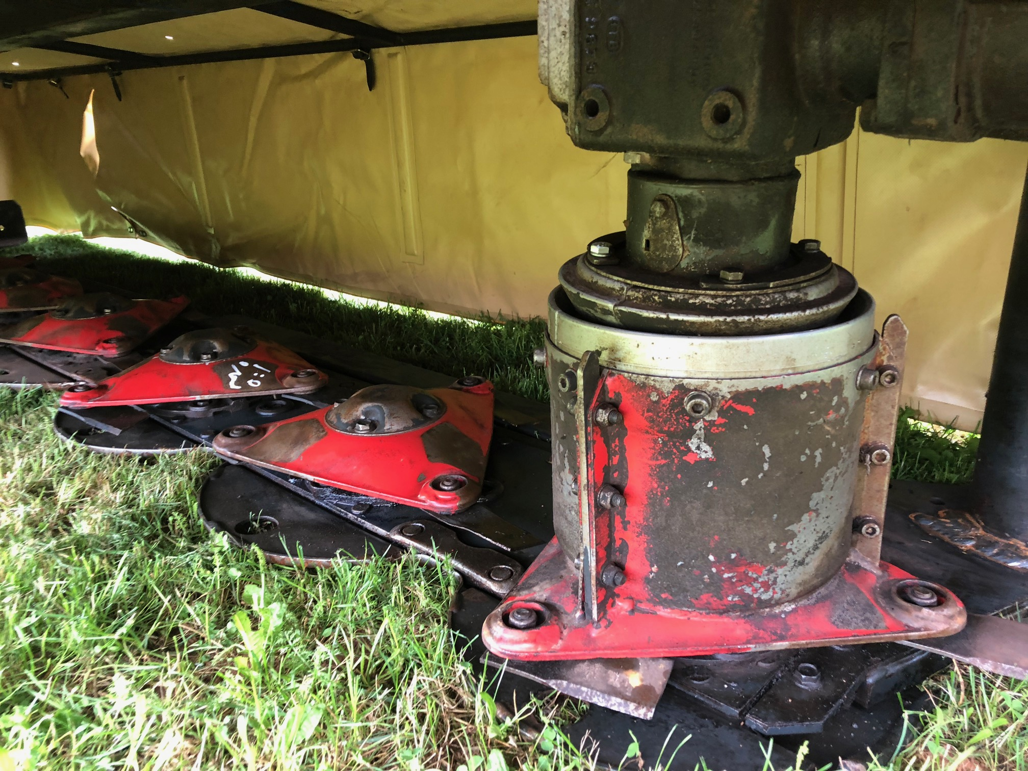2008 Vicon DMP3200 Mower/Disc for sale in Kensington, PE | IronSearch