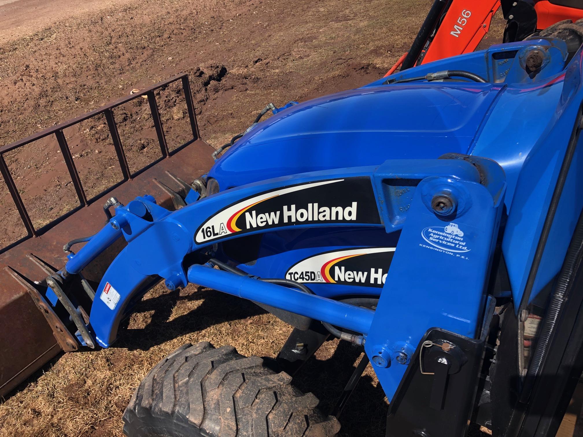 2005 New Holland TC45DA Tractor for sale in Kensington, PE