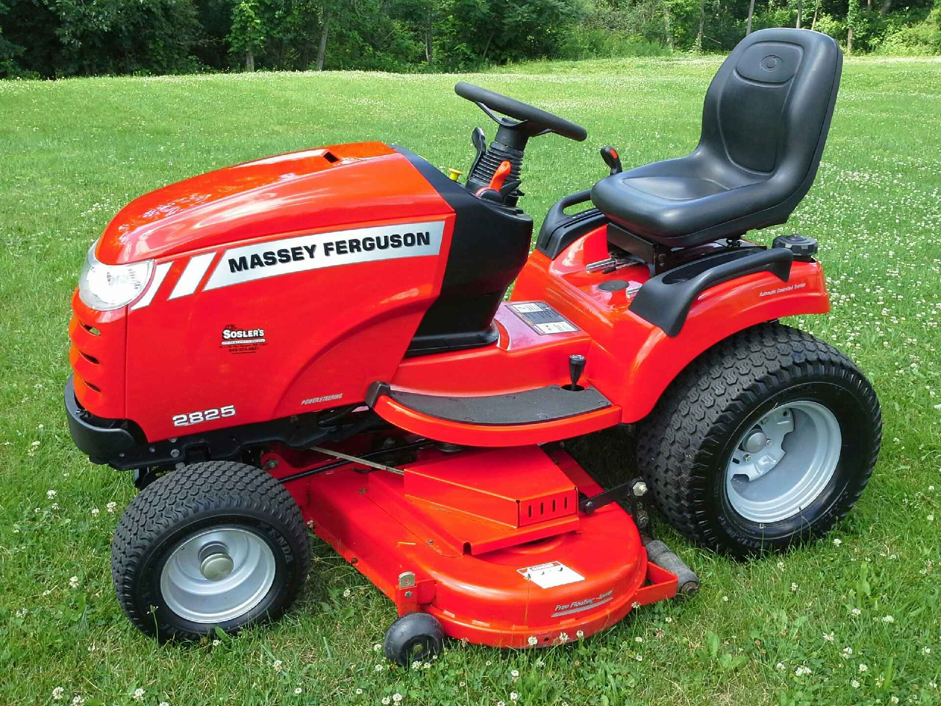 2008 Massey Ferguson 2825H Garden Tractor