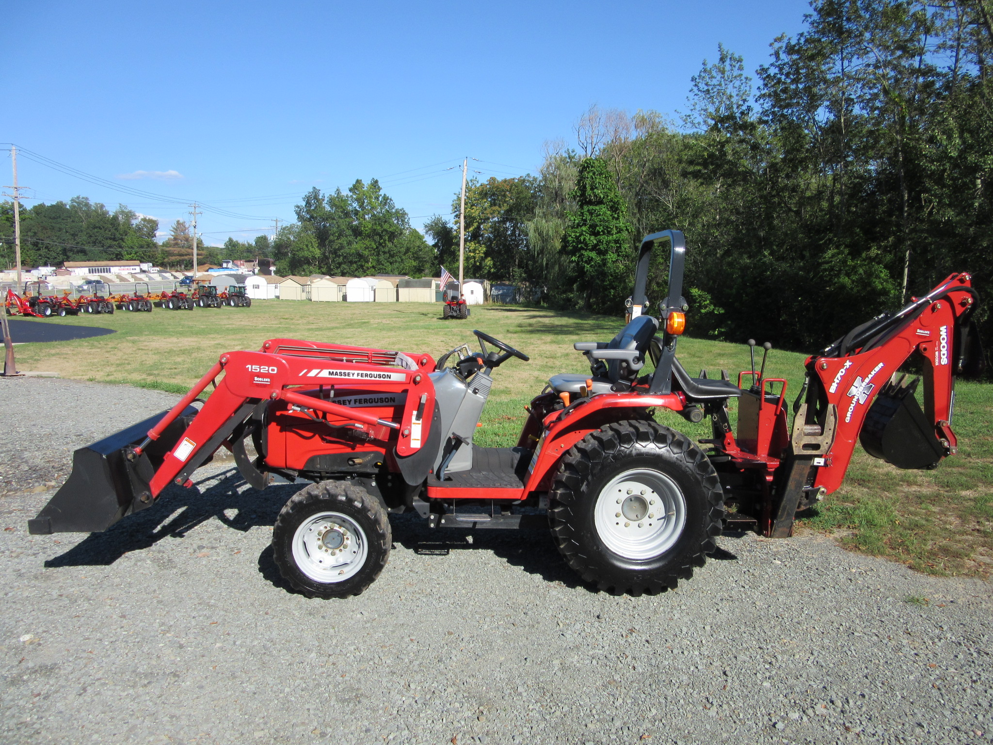 2009 Massey Ferguson 1528 Tractor Loader Backhoe For Sale In New Hampton Ny Ironsearch