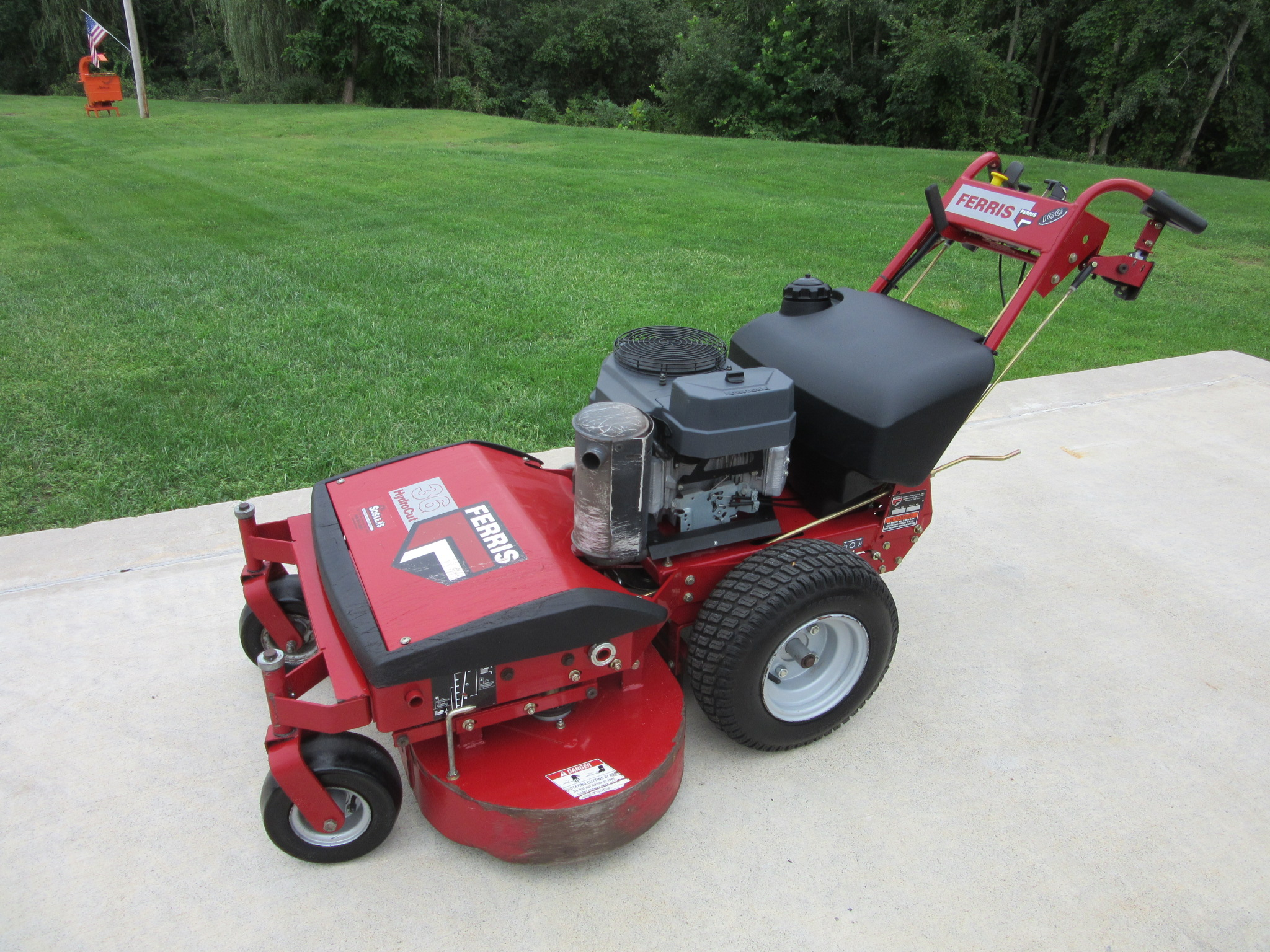 2006 Ferris Hc36kav13e Mower Commercial Walk For Sale In