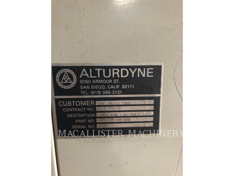 1996 Caterpillar 3516 Generator for sale in INDIANAPOLIS, IN