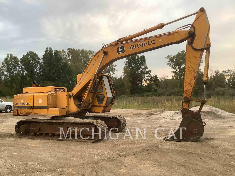 1989 John Deere 690 Excavator for sale in NOVI, MI | IronSearch