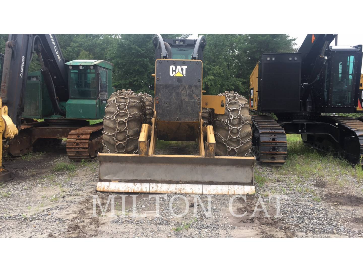 2015 Caterpillar 555D Skidder for sale in MILFORD, MA