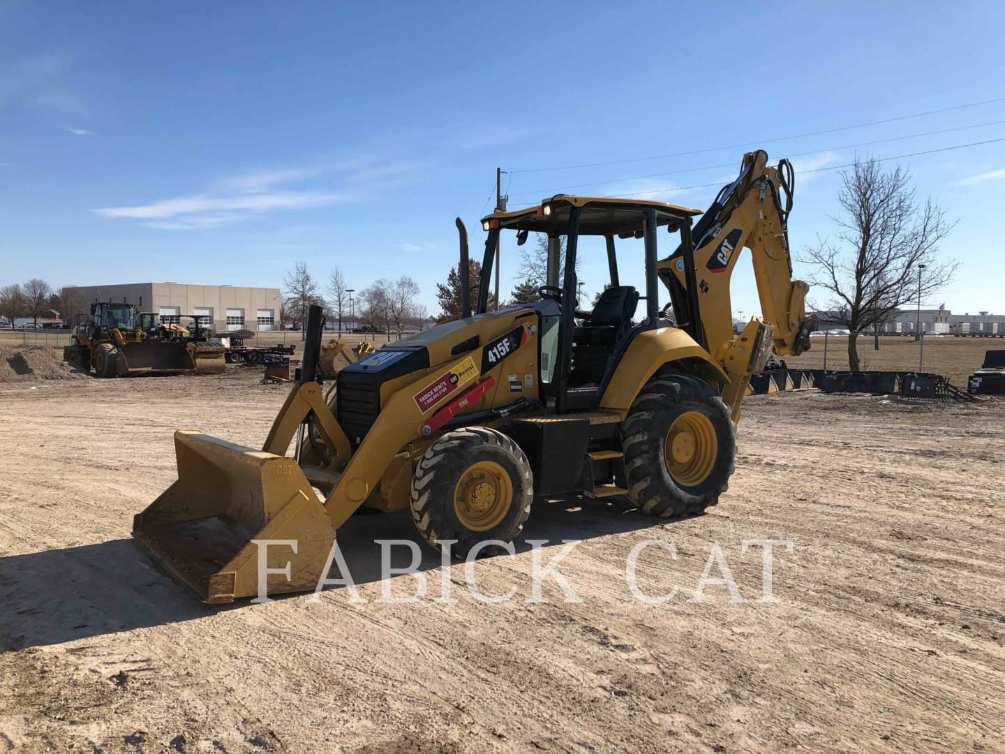 2015 Caterpillar 415F2ST Tractor Loader Backhoe for sale in