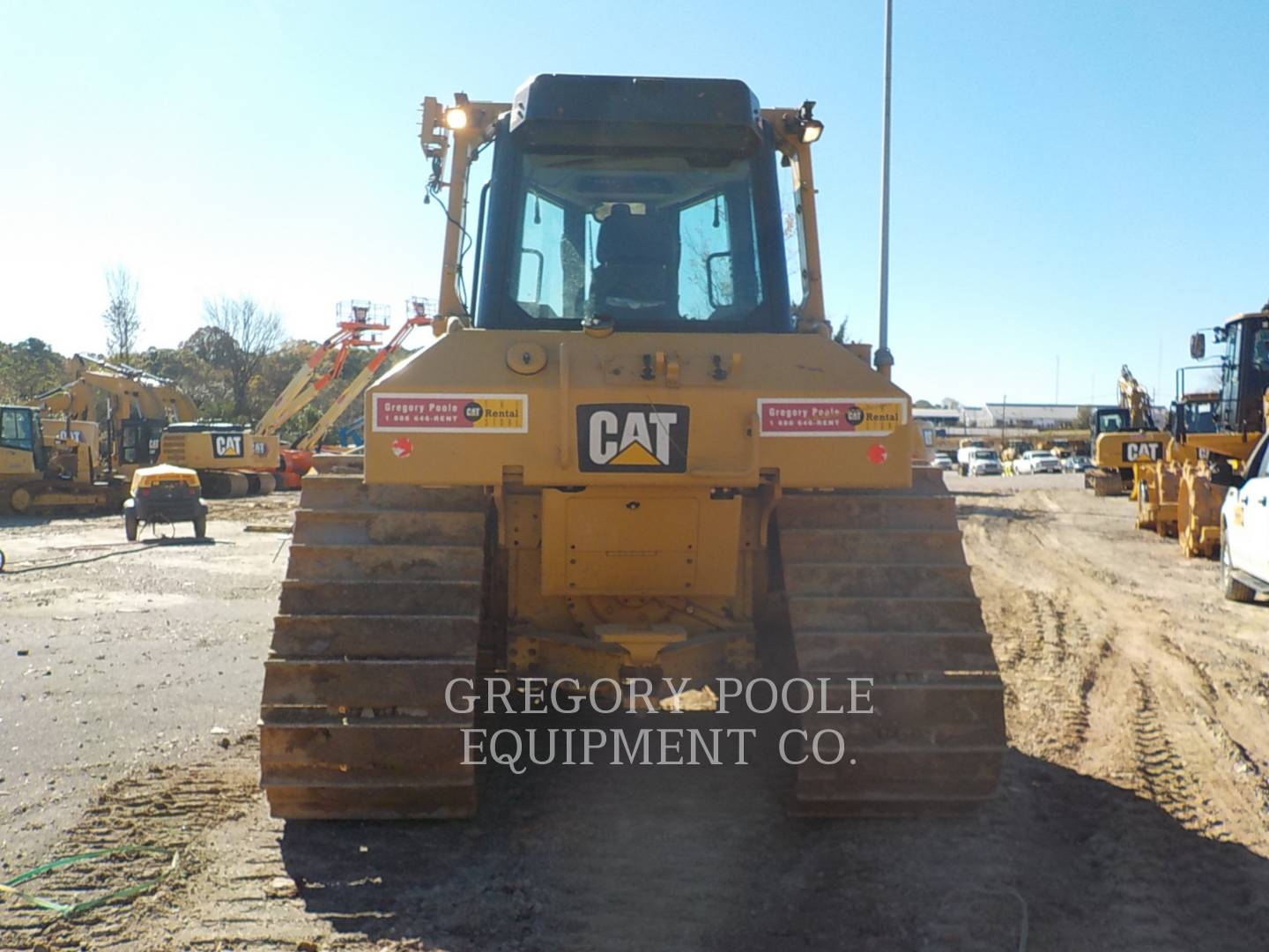 2017 Caterpillar D6N LGP Dozer for sale in RALEIGH, NC