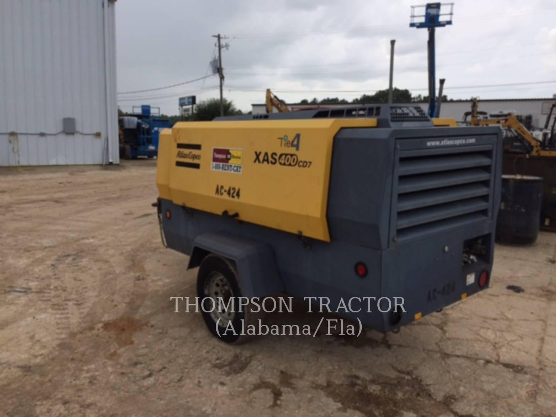 2014 Misc 2014 ATLAS COPCO 400 CFM Air Compressor for sale