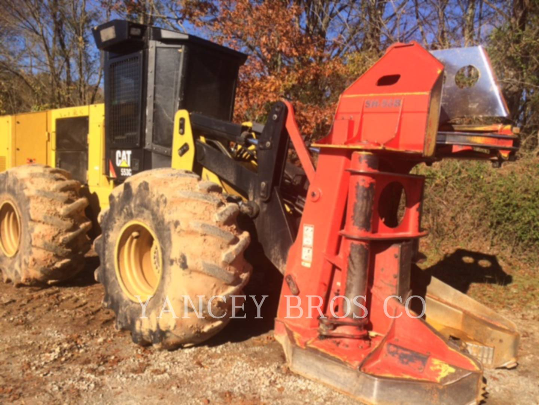 2015 Caterpillar 553C Feller Buncher for sale in AUSTELL, GA