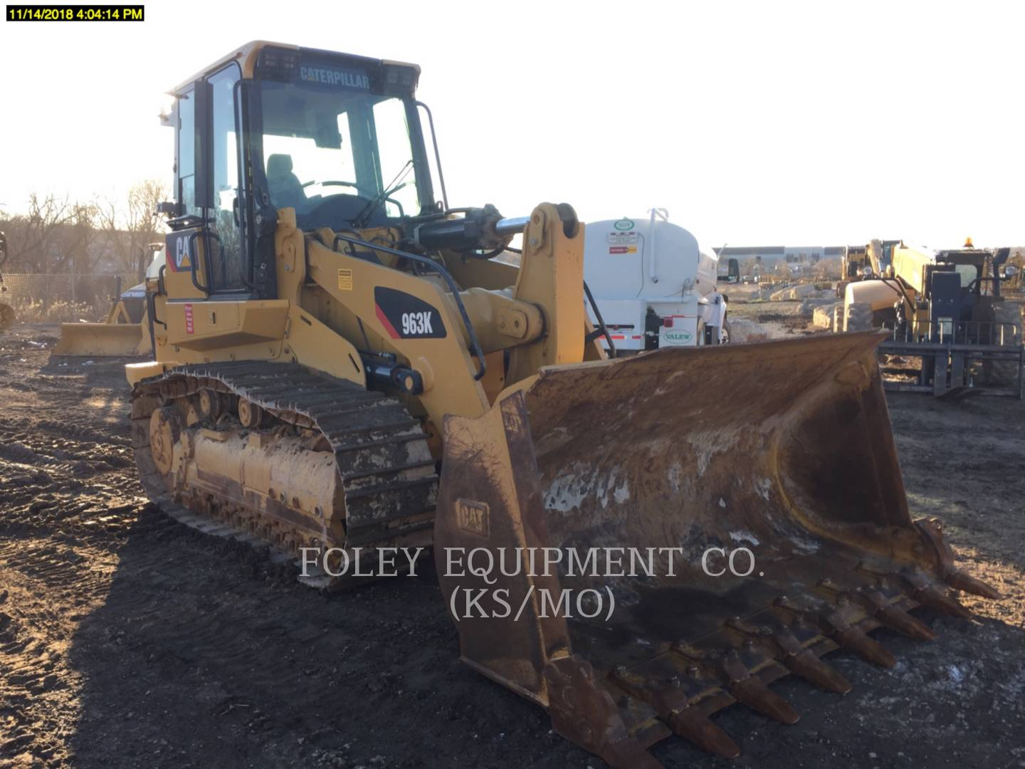 2017 Caterpillar 963K Compact Track Loader for sale in