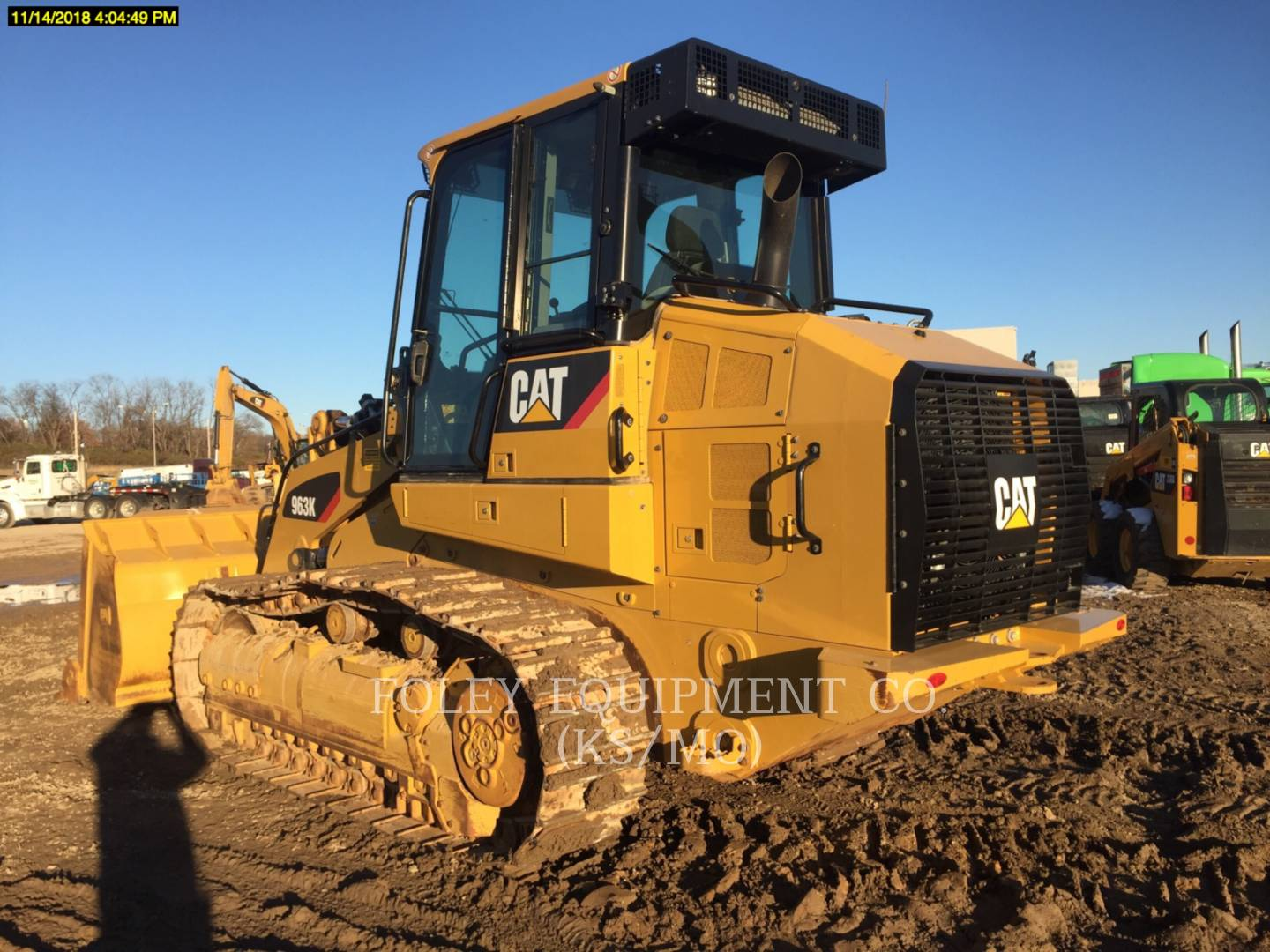 2017 Caterpillar 963K Compact Track Loader for sale in WICHITA, KS