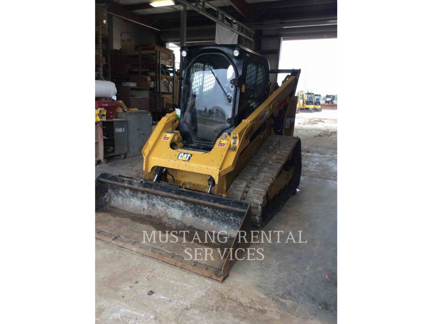 2017 Caterpillar 299hfca Compact Track Loader For Sale In Houston